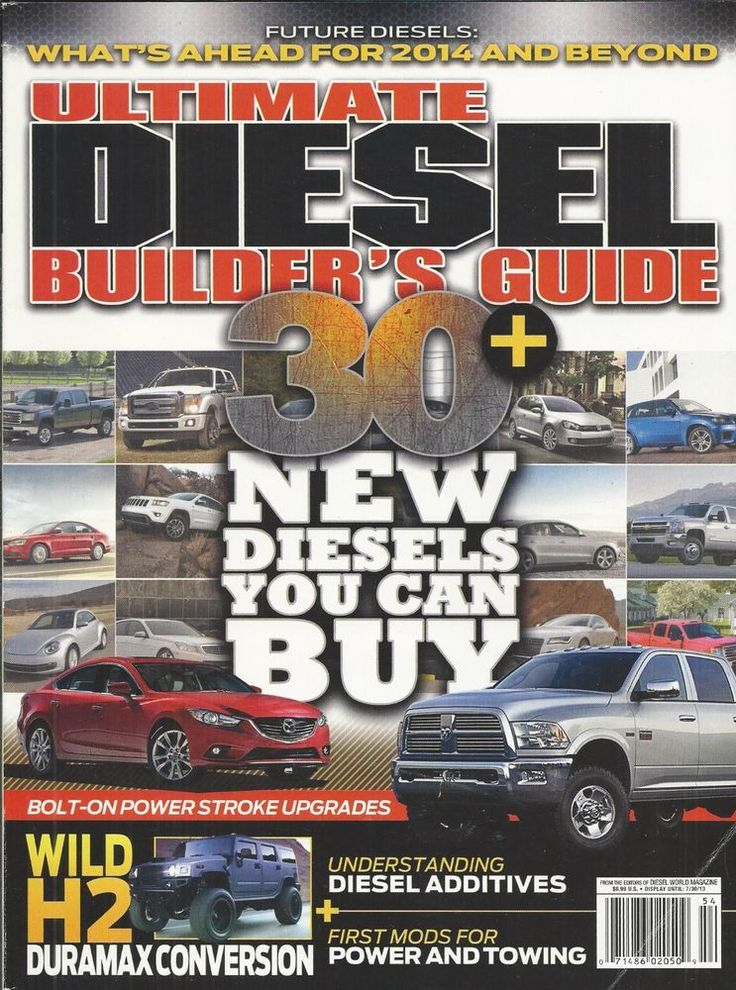 Ultimate Diesel Builders Guide magazine Additives Power and towing Duramax H2