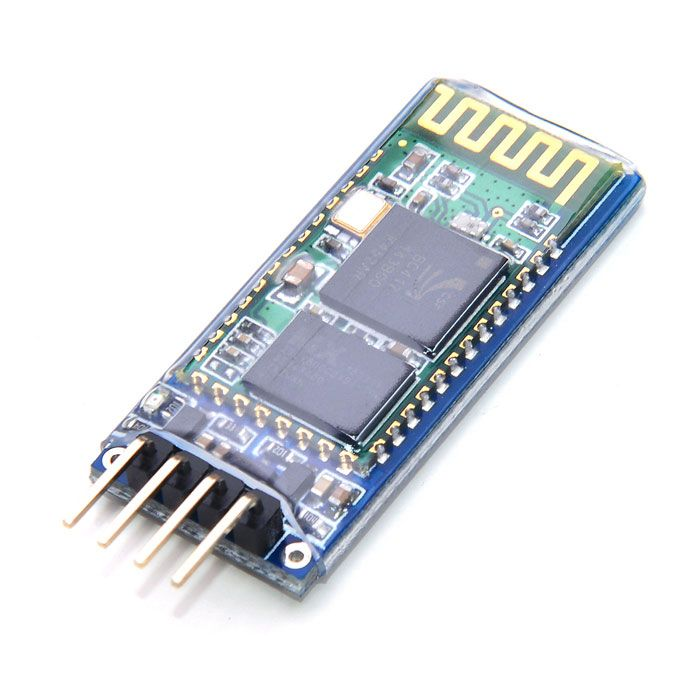 """JY-MCU Bluetooth Wireless Serial Port Module for Arduino (Works with Official Arduino Boards). """"Give your DIY wireless gadgets Bluetooth connectivity with the help of the JY-MCU Bluetooth Wireless Serial Port Module for Arduino. This incredibly affordable module is compatible with any official Arduino board and can be used for a wide variety of tasks from connecting to GPS systems, computers, laptops, mobile phones and more. The serial port module is a drop-in replacement that has a plug and…"""