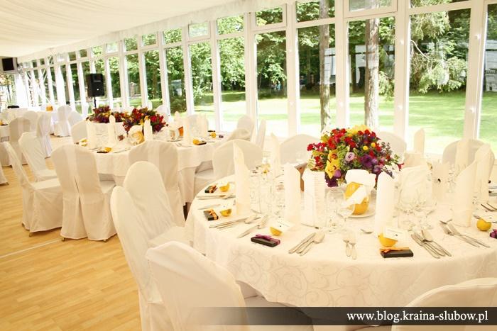 Wedding table centerpiece / Kraina Ślubów / fot. Ewa Wardęga