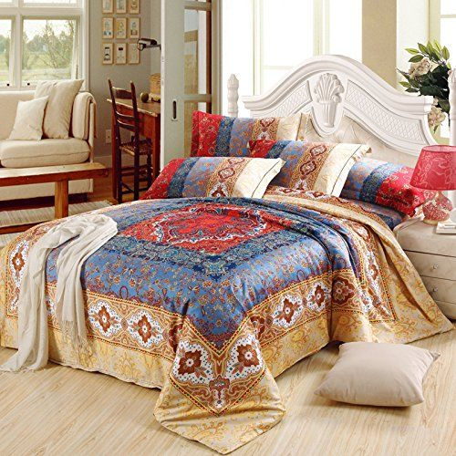 Cliab Moroccan Bedding Bohemian Bedding Sets Queen