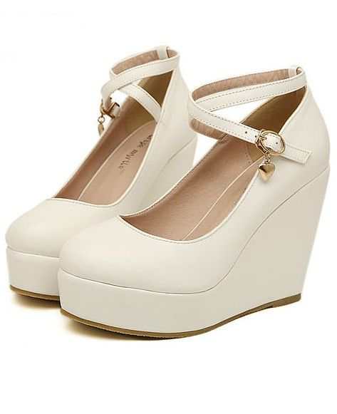 Spring cake thick soled shoesEngland wedges shoes  WK5BRKNW6
