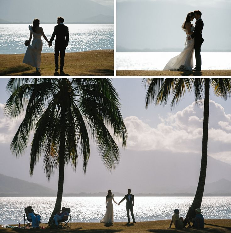 Port Douglas Wedding Photography. Byron and Elise, taking a walk at Rex Smeal…