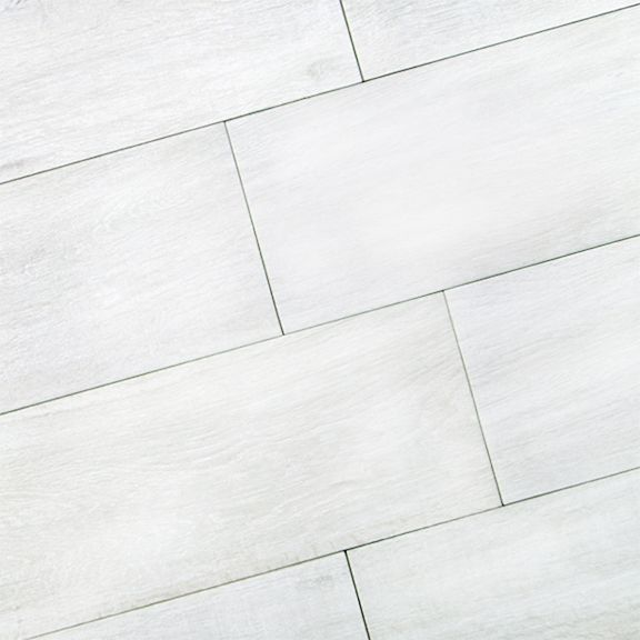 ... White Porcelain Tile Floor