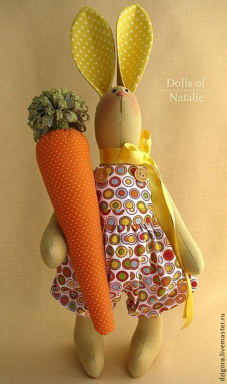Купить Морковный Роджер - игрушка заяц, игрушка кролик, купить зайца, купить кролика