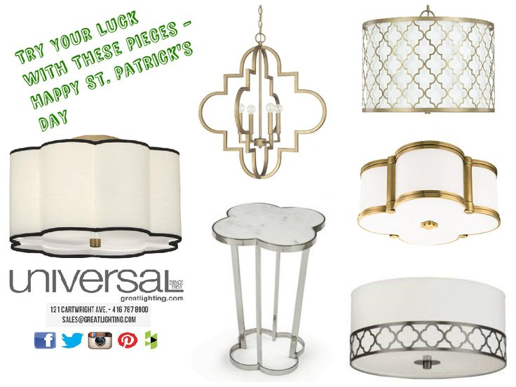 Happy St Patrick's Day! Bring home the luck of the Irish with these stylish clover lights