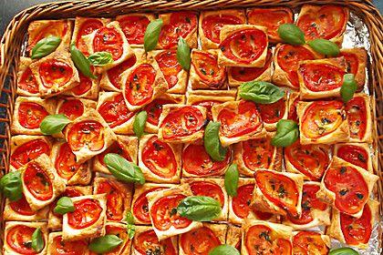 Blätterteig - Tomaten - Quadrate (Rezept mit Bild) | Chefkoch.de