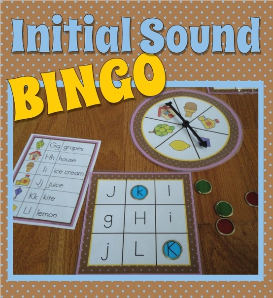 Great ABC game to help kiddos learn beginning sounds.  Easily differentiated.