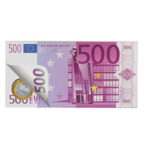 Chocolade bankbiljet en munten  Description: Eet jezelf rijk met dit heerlijke geld van melkchocolade! (100gr)  Price: 3.00  Meer informatie  #Jamin