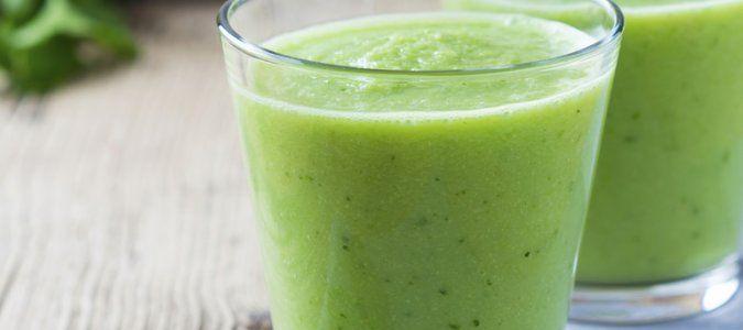 Zelený detoxikační Smoothie nutriblog, delimano