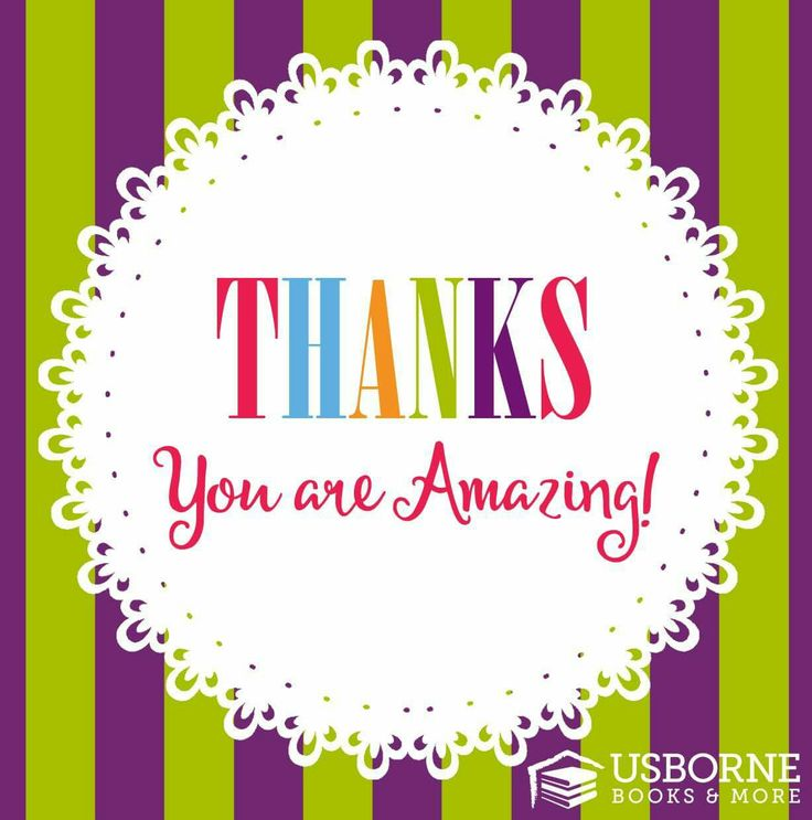 Thank You For Your Order Usborne Graphic Usborne Books Usborne Books Party Usborne Books Consultant