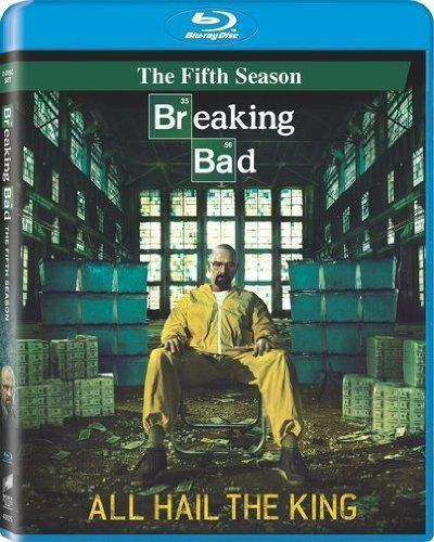 Breaking Bad: Season 5 (Episodes 1-8) (2 Discs Blu-ray  UltraViolet Digital Copy) by Sony Pictures  @ niftywarehouse.com #NiftyWarehouse #BreakingBad #AMC #Show #TV #Shows #Gifts #Merchandise #WalterWhite
