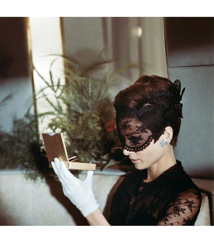 Audrey Hepburn on the set of How to Steal a Million