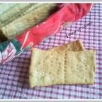 I crackers,ricetta salata