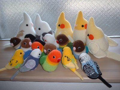 Amigurumi parrots | free crochet pattern