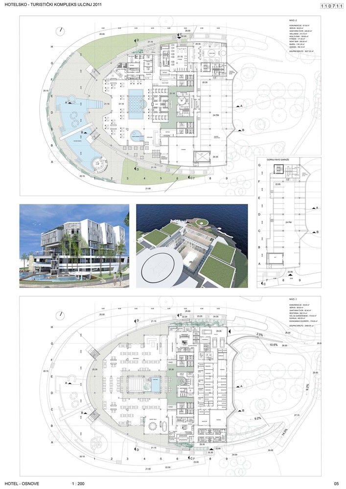 Gallery - Ulcinj Montenegro Hotel / Ital design & Arco projekt - 6