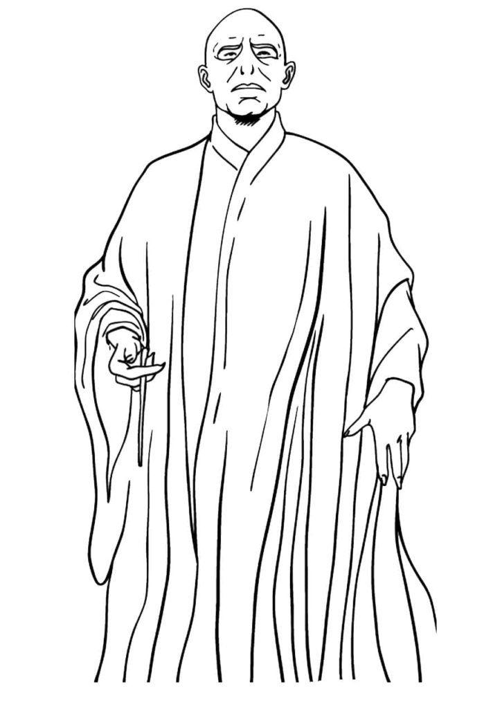 Dibujos de Harry Potter para colorear en 2020 | Dibujos de ...