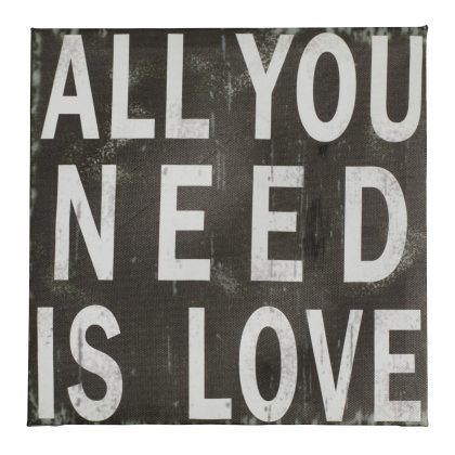 All you need is love, Pfister quote