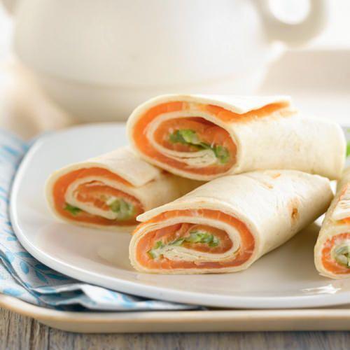 Ontbijt wraps met gerookte zalm - recept - okoko recepten