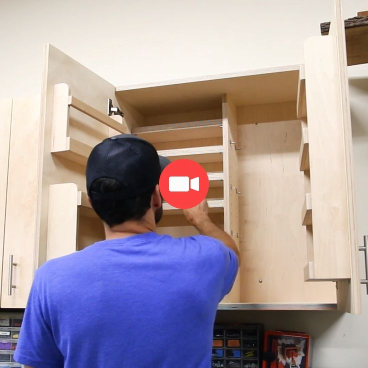 Comment Faire Des Armoires Murales Avec 5 Options De Stockage Armoire Murale Bricolage Maison Fabriquer Une Armoire