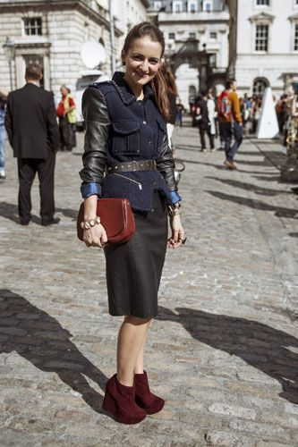 Andrea, 25, fashion blogger - London Fashion Week Street Style: Photos from Spring/Summer 2013 | Stylist Magazine