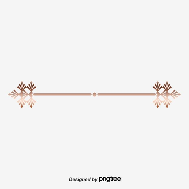 Gold Dividing Line Gold Vector Line Vector Simple Dividing Line Png Transparent Clipart Image And Psd File For Free Download Photo Frame Design Clip Art Decorative Lines