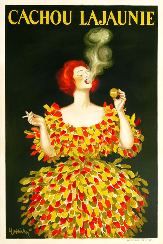 Cachou Lajaunie by Cappiello, Leonetto | Vintage Posters at International Poster Gallery