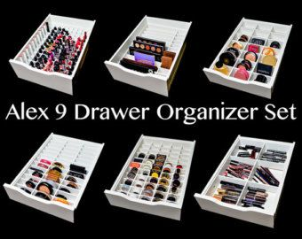 IKEA Alex 9 Palette Organizer Makeup by TheCosmeticArchive More