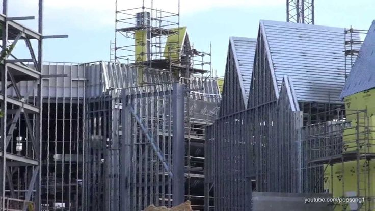 The Wizarding World of Harry Potter Diagon Alley Construction Update July 30th 2013 Universal