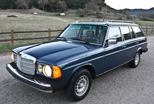 Beautiful. 1985 Mercedes Benz 300 TD wagon.