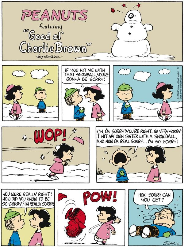 Peanuts for 12/1/2013 | Peanuts | Comics | ArcaMax Publishing