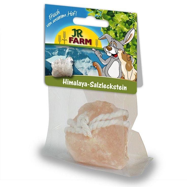 Animalerie  JR Farm Himalaya Pierre de sel pour rongeur  2 x 80 g