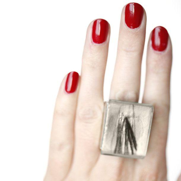 Adjustable Sktech Ring | Anne-Marie Chagnon