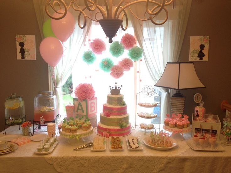 Baby shower for boy and girl twins my design pinterest for Baby shower decoration ideas for twin boys