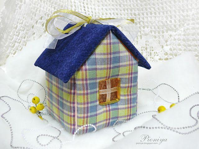 Pioniya: Мягкий домик-коробочка + МК