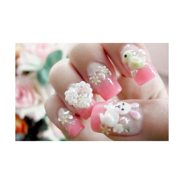 2010 japanese nail art trends my nails art found on polyvore
