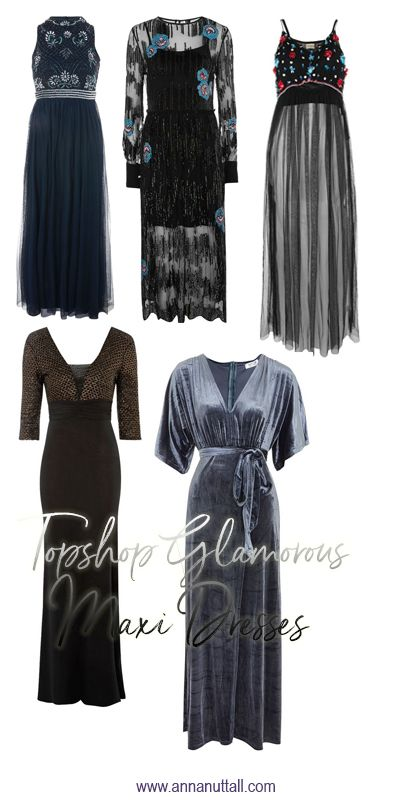 If you want to feel ultra- glamorous in 2018 and want to be the  belle of the ball, here are glamorous Topshop maxi dresses you need buy.