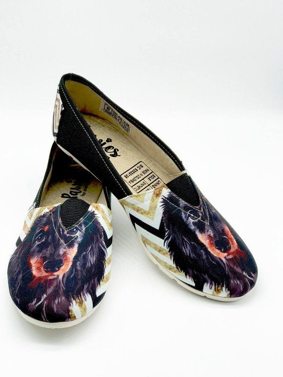 Dachshund Shoes Woman Shoes Dachshund Dog Breeds Animal Lovers Pet Lovers Slip Ons Puppies U Unique Shoes Dog Breeds Women Shoes