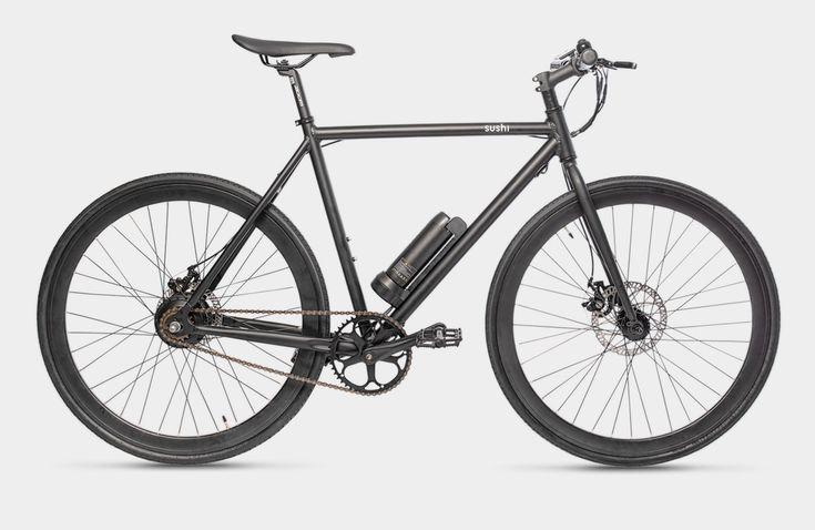Sushi Bikes Minimalistisch Ausgestattete E Bikes Zum Kleinen