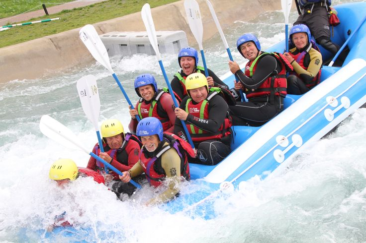 #whitewaterrafting during Activities Week with #BlindVeteransUK.
