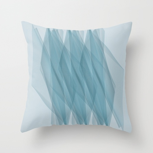 Twisted Lines Throw Pillow #Pillow #Society6