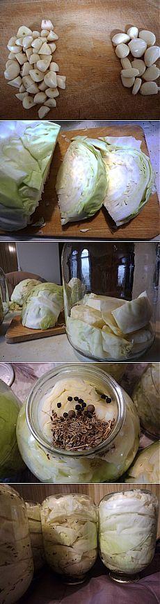 Капуста на зиму.Предлагаю вам рецепт маринованной капусты на зиму. Проверенный годами)))Банки и крышки предварительно стерилизуем, банки по 10 минут, крышки 2-3 минуты.На 6 банок уходит примерно 6 вилков капусты по 2-3 кг, зависит еще от того как плотно будете складывать.