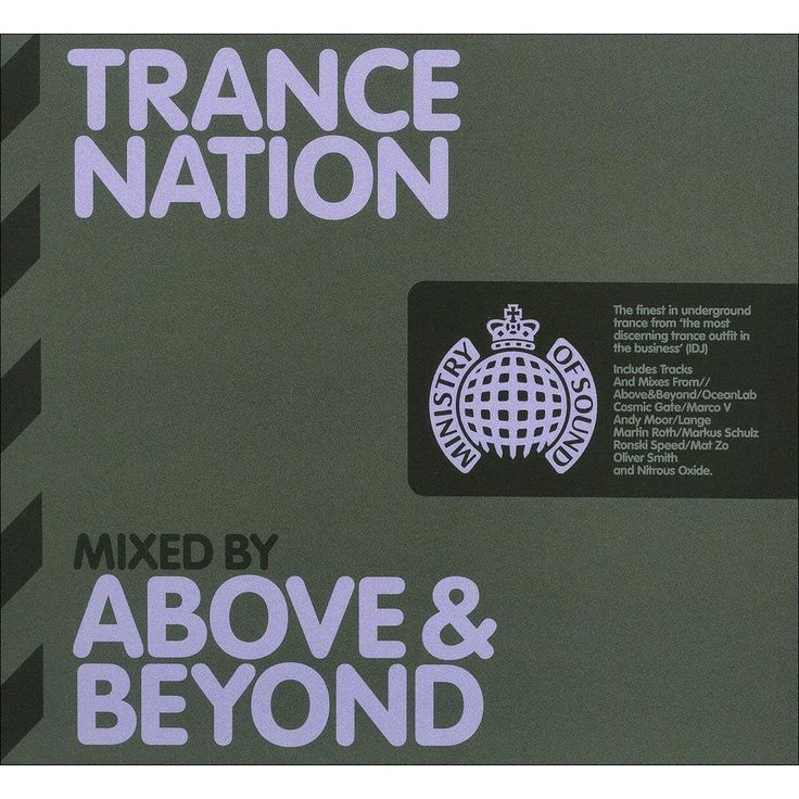 Various Artists - Trance Nation Mixed by Above & Beyond (CD)