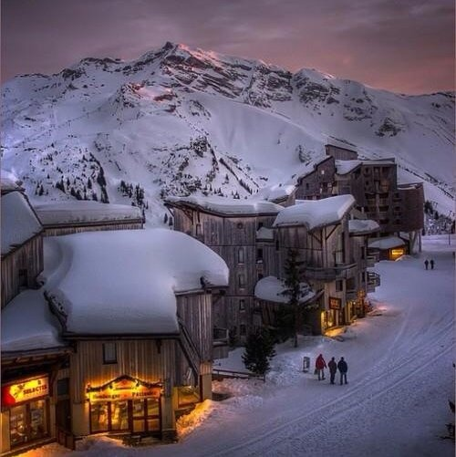 Trois Vallees - French Alps