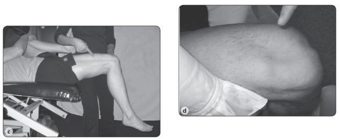 Modified Thomas Test for Hip Flexor