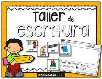Este recurso incluye 132 tarjetas ilustradas para iniciar una escritura detallada. Los dibujos representan diferentes sustantivos, adjetivos y verbos para hacer oraciones. Cada grupo de tarjetas está presentado en diferente color para facilitarle al estudiante que encuentre el tipo de tarjeta que necesite.