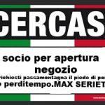 CERCASI SOCIO (COMIC MEME)