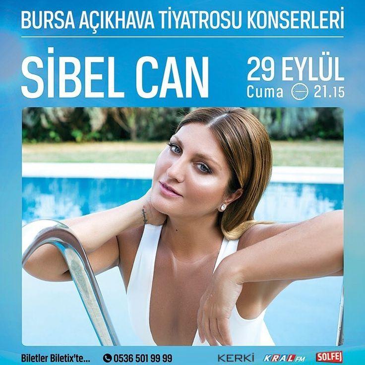 🎶💫✨Sibel Can ✨🔊Biletler @biletix 'te ... 29 Eylül Bursa Açıkhava Tiyatrosu ,13 Ekim Antalya Konyaaltı Açıkhava tiyatrosu .#sibelcan