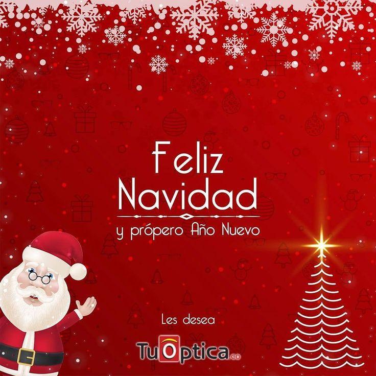 Ya hoy es Navidad y estamos muy felices de ser parte de tu vida por eso todo el equipo de @tuoptica_co te desea una Feliz Navidad llena de amor prosperidad y abundancia.  #FelizNavidad #Navidad #Calidad #Estilo #Montura #Óptica #Barranquilla #Valledupar #Colombia #Lentes #Moda #Tendencia #Tuoptica #Amor #Paz #Prosperidad #Abundancia