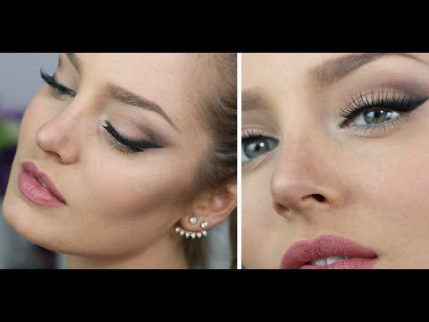 Kendall Jenner Inspired Smokey Wing & Powder Contour Tips! - YouTube