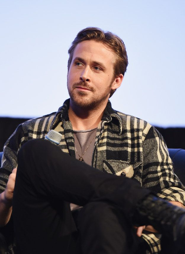 When he rocked plaid and some stubble like the fall boyfriend of your dreams. | 17 Times Ryan Gosling Made You Almost Forget How To Breathe